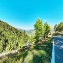 Umbrail Pass near Restaurant Alpenrose at 1'800 Meters