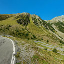 Umbrail Pass at 2'100 Meters near Alp Muraunza