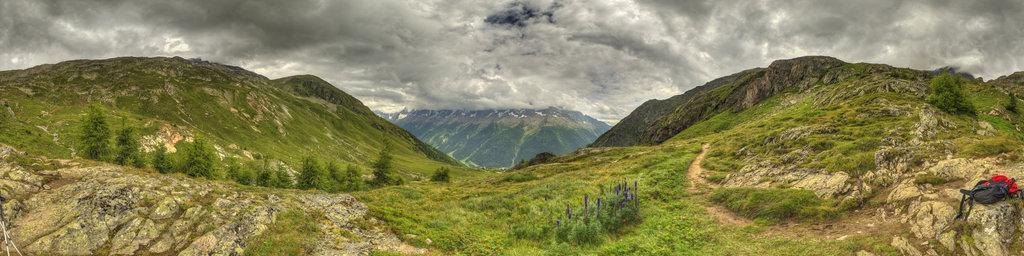 Loetschenpass in Switzerland 8