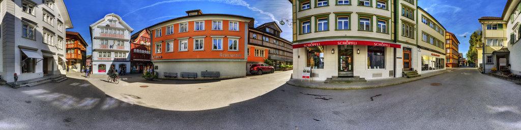 Hirschengasse/Engelgasse in Appenzell