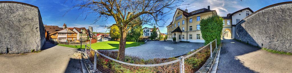 "Behind the ""Stiftung Kloster Maria der Engel"" in Appenzell"
