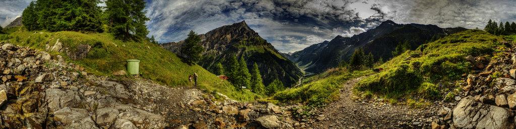 Loetschenpass in Switzerland 1