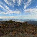 Mount Wellington Lookout over Greater Hobart Area, Tasmania