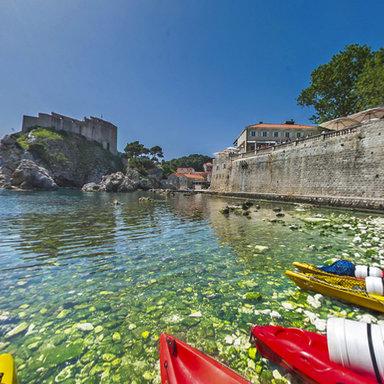 Rowing adventure in Dubrovnik