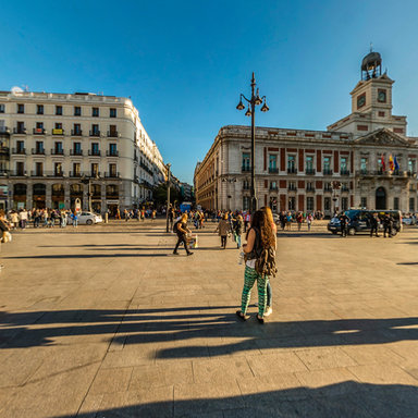 Plaza puerta del sol madrid 2015 for Plaza del sol madrid