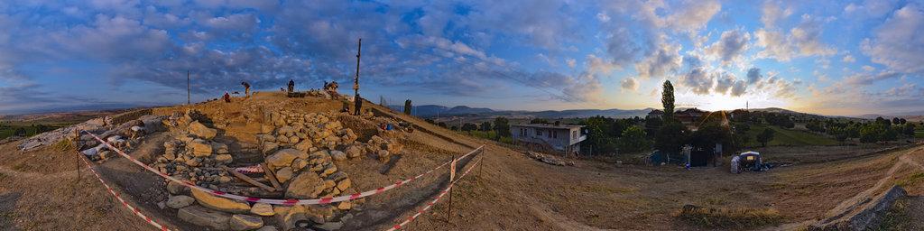 Archaeological excavation of Nerik 11-08, Turkey