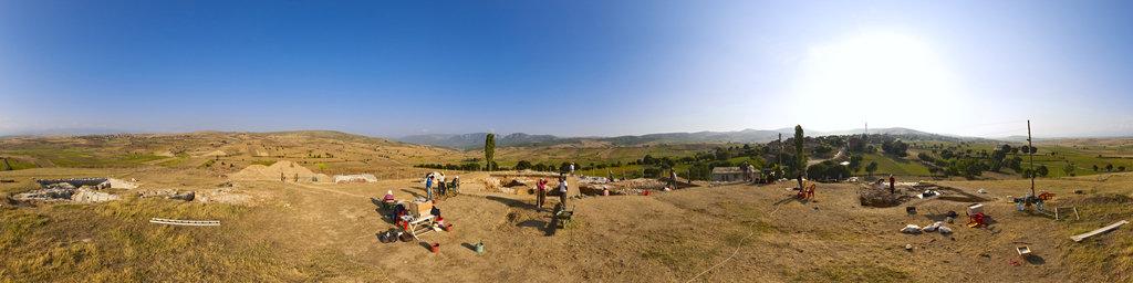 Archaeological excavation of Nerik 11-10, Turkey