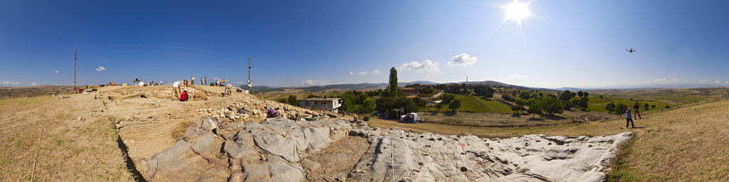Archaeological excavation of Nerik 11-11, Turkey