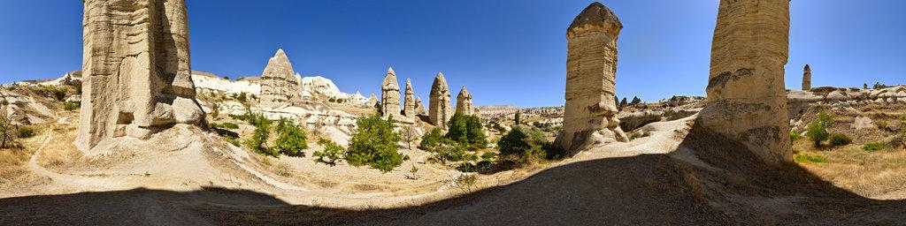 Love Valley, Cappadocia, Turkey