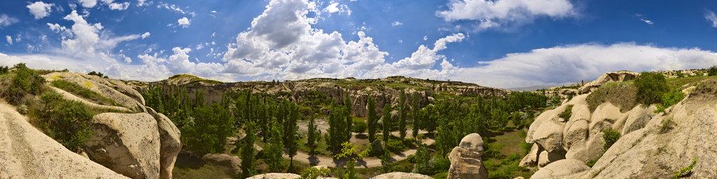 Valley near Göreme, Cappadocia, Turkey
