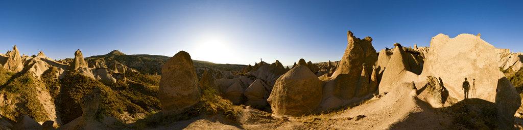 Shadow Man, Cappadocia, Turkey