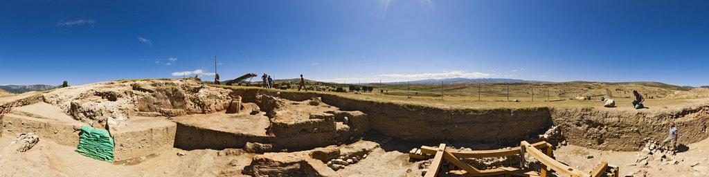 Archaeological excavation of Nerik 12-01, Turkey