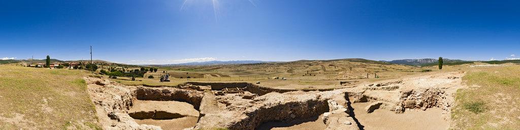 Archaeological excavation of Nerik 12-03, Turkey