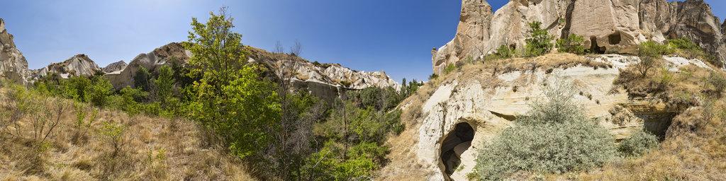 Close to the Meskendir Cave Church, Cappadocia, Turkey
