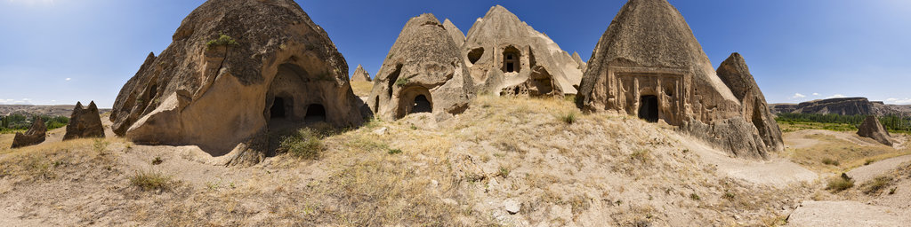 Selime Cave Monastery, Cappadocia, Turkey