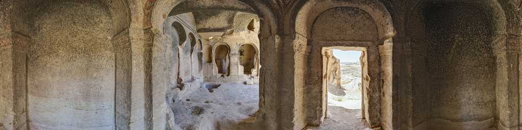 Kepez tuff rock churches, Cappadocia, Turkey