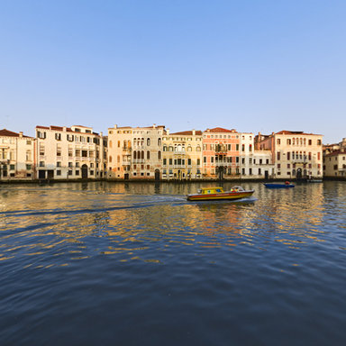 Canal Grande in front of Chiesa San Stae, Venice, Italy