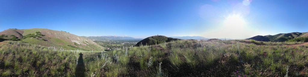 Ensign Peak, SLC, Utah, USA
