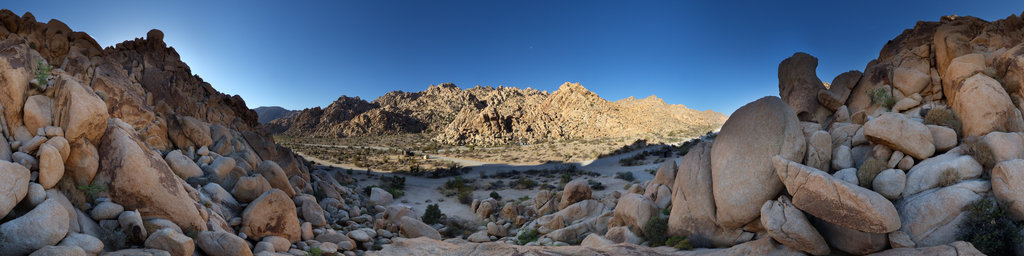 Indian Cove Campground, Joshua Tree National Park, California, USA