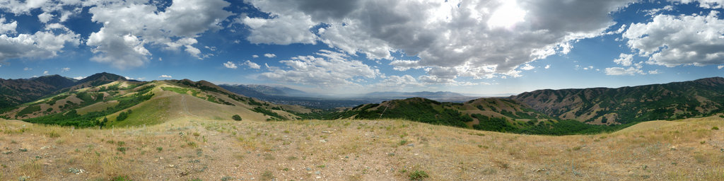 Bonneville Shoreline Trail, Salt Lake City, Utah, USA