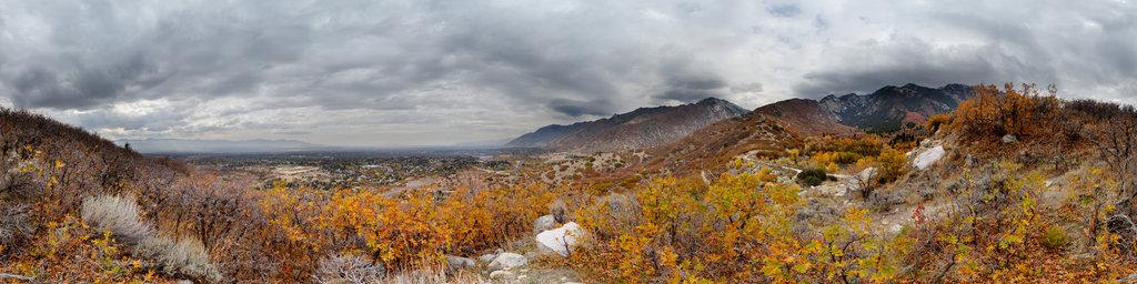 Bells Canyon and Sandy, Utah, USA