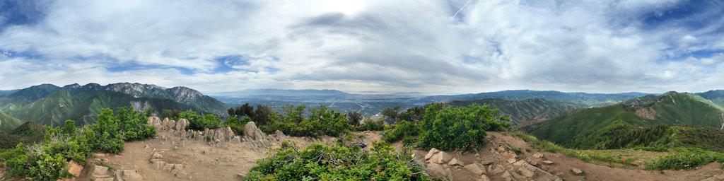 Grandeur Peak, Salt Lake City, Utah, USA