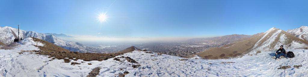 Below Perkins Peak, Salt Lake City, Utah, USA