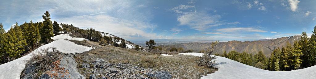 Black Mountain, Salt Lake City, Utah, USA