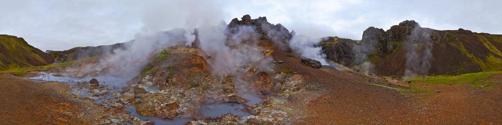 Reykjadalur - fumaroles