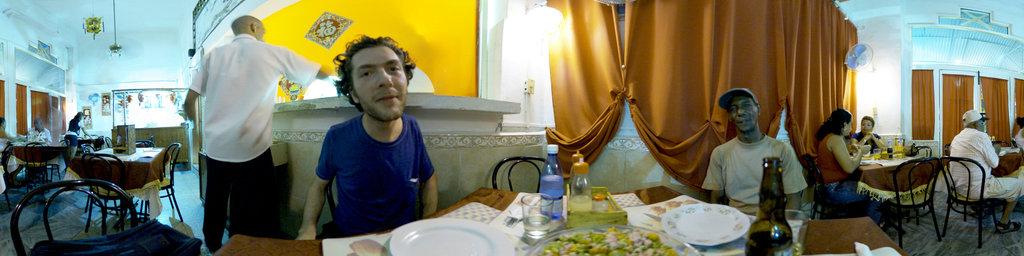 Paella in Havana Chinatown
