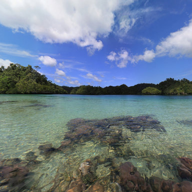 INDONESIA - Raja Ampat Islands - Pulau Gam, Hidden Bay