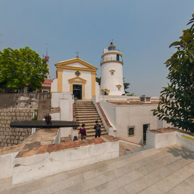 macao guia fort and lighthouse