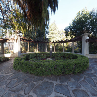 Gardens At Kimberly Crest Mansion In Redlands California