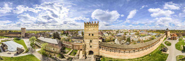 Ukraine Heritage Lutsk Castle Lubart Castle Inside 360cities Howldb