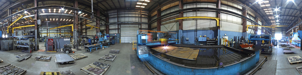 Mellott Company, Plasma Burntable and Cut Parts