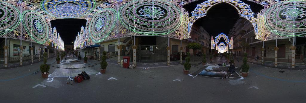 Madonnari festival in Nocera Superiore (Salerno)