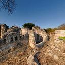 Sultan's Grave. Ruins at Kilwa Kisiwani, Tanzania