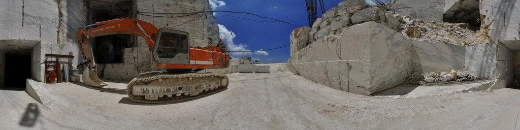 Apuan Alps Marble Quarry