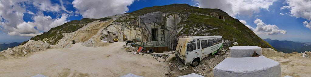 Marble Blocks, Apuan Alps