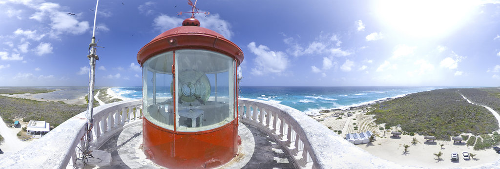 Celarain Lighthouse / South Point of Cozumel Mexico