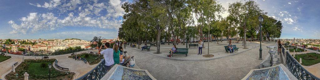 Jardim de San Pedro, lisbon