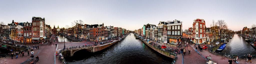 Prinsengracht/Spiegelgracht Amsterdam
