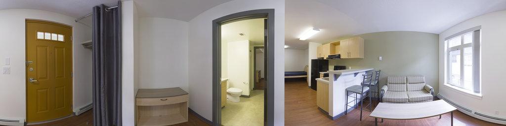 Graduate Residence, Studio Room