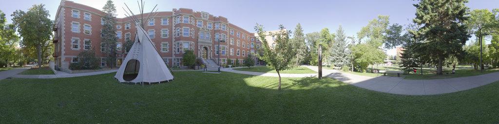 Main Quad, Pembina Hall