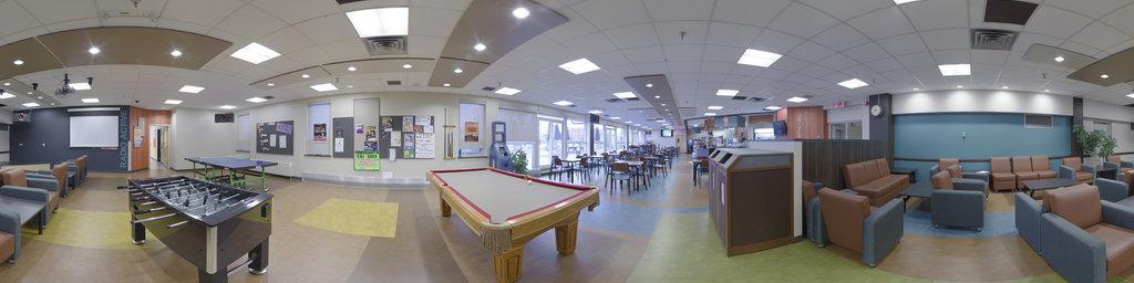 Pavillon McMahon, Student Lounge