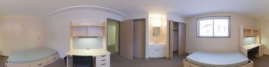 Ravine Residences, Empty Double Room