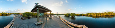 florida-everglades-anhinga-trail-sunset
