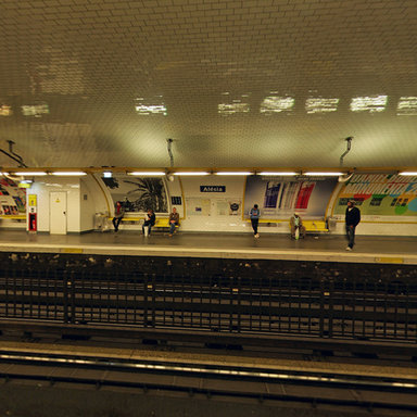 Paris Metro Station - Alésia