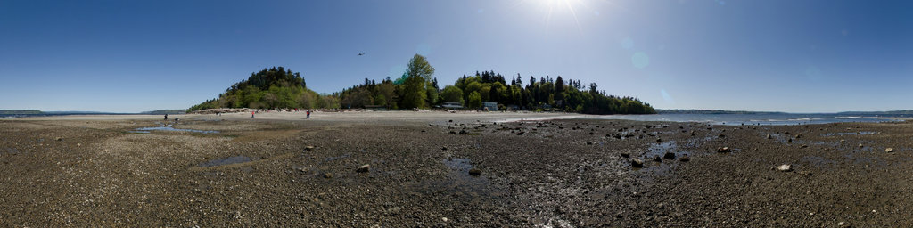 Low Tide at Saltwater State Park, Washington