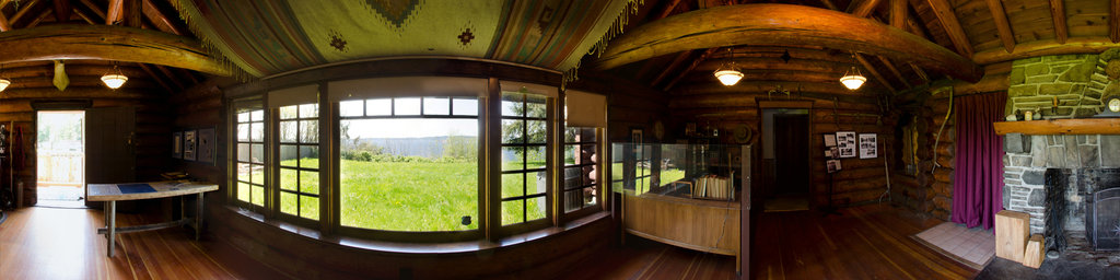 Saltwater State Park Interpretive Center, Interior - Washington State